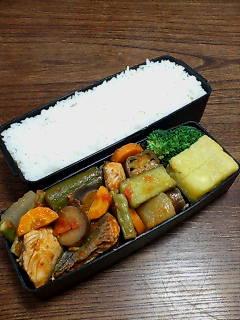 魚と夏野菜