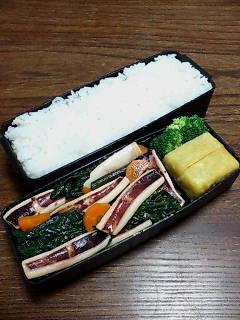 イカと空芯菜