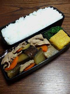 豚肉と米ナスの炒め煮