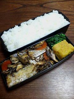 太刀魚と舞茸のつけ焼き