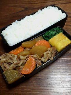 豚肉と大根の含め煮