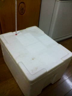 発酵箱製作