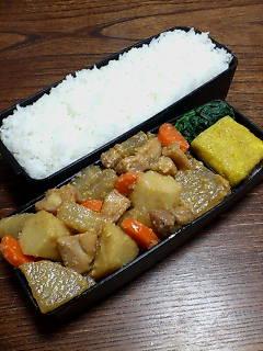 鶏肉と根菜の鉄火味噌和え