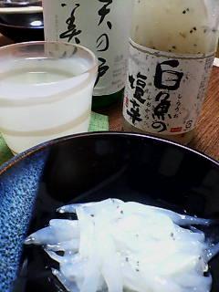 白魚の塩辛