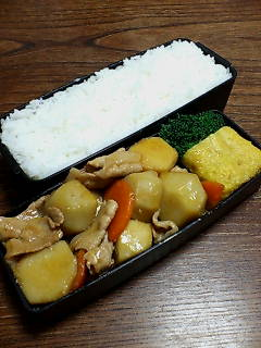 豚肉と里芋の炒め物