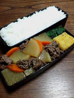 牛肉と大根の炒め煮山椒風味