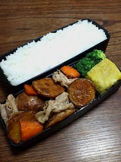 豚肉と揚げ新ジャガ柚子胡椒炒め