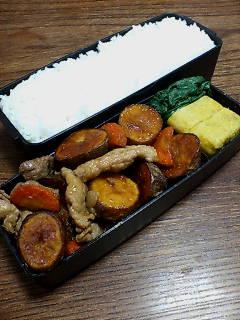 豚肉と揚げジャガ芋の柚子胡椒炒