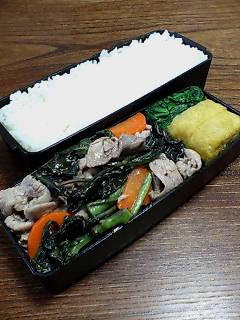 豚肉とハンダマの炒め物
