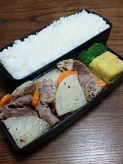 豚肉と大根の炒め物
