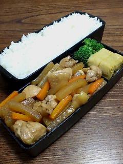 鶏肉と大根の炒め煮
