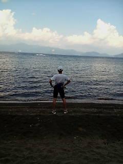 湖畔で終了