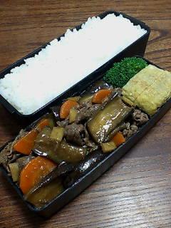 牛肉とナスの甜麺醤炒め
