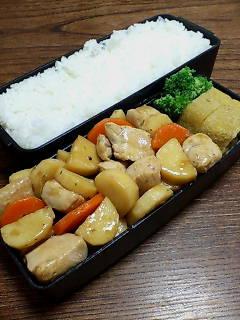 鶏肉と長芋の生姜炒め