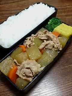 豚肉と冬瓜の味噌煮