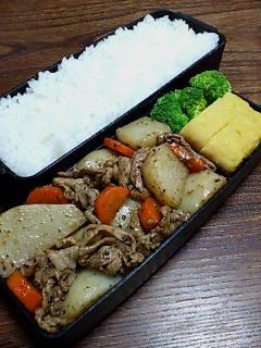 豚肉とカブのバルサミコ酢炒め