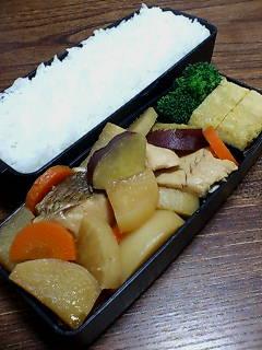 鯛と根菜の煮物