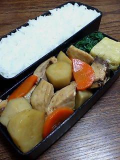 鰤と里芋の炒め煮