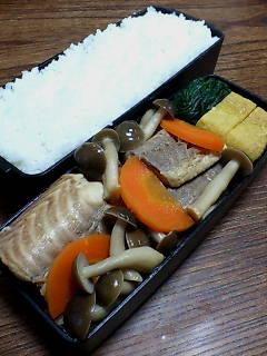 アブラツノザメとシメジの煮物