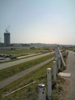 多摩川通過
