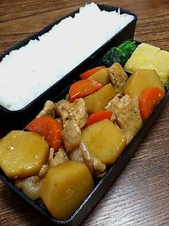 豚肉と里芋の炒め煮