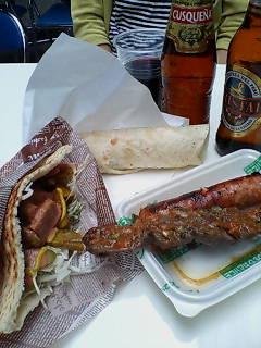 横浜国際フェスタで昼ご飯