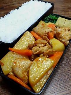 豚肉とジャガイモのケチャップ炒め