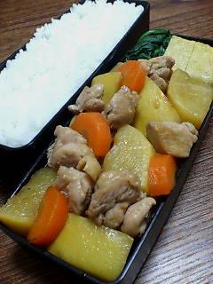 鶏肉と黄カブの炒め煮