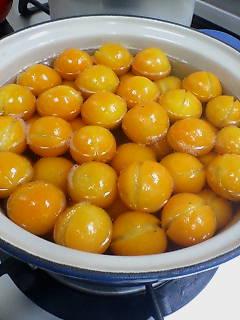 金柑の甘露煮を作る