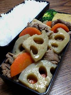 牛肉とレンコンの山椒煮