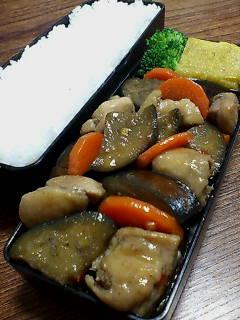 鶏肉と米那須ねスイートチリソース醤油炒め