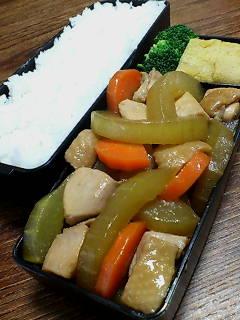 鶏肉と白瓜の煮物