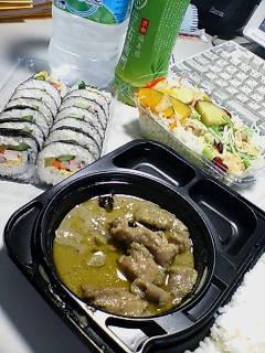 健康診断後の昼ご飯