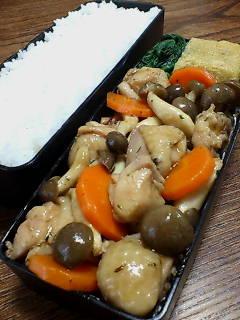 鶏肉とシメジのオイスタータイム炒め
