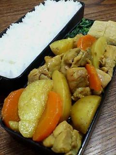 鶏肉とジャガイモの味噌カレー煮