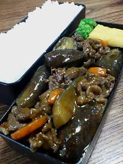 牛肉とナスの炒め煮