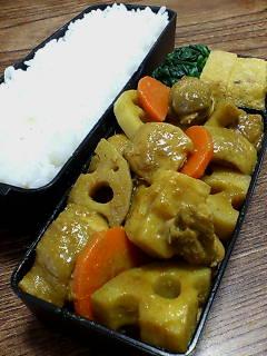 鶏肉とレンコンのカレー生姜煮
