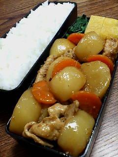 豚肉とカブの生姜炒め煮
