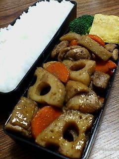 鶏肉とレンコンのバルサミコ山椒炒め