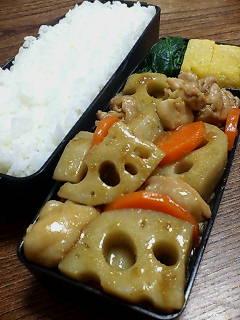 鶏肉とレンコンのオイスター柚子胡椒炒め