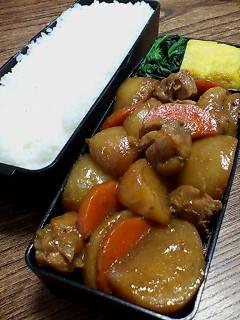 鶏肉とカブの豆味噌炒め煮