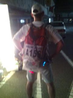 俵山温泉エイド通過