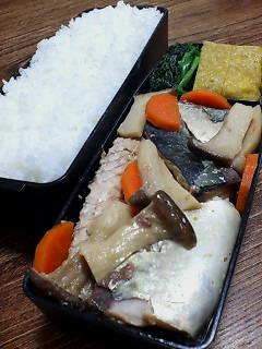 サバとエリンギの味噌煮