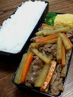 牛肉とジャガイモのオイスターソース炒め