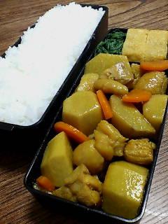 鶏肉と里芋のカレー煮