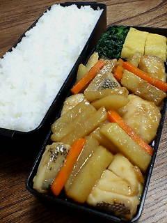 鱈とジャガイモのラー油炒め
