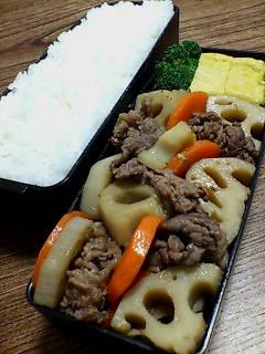 牛肉とレンコンのハーブ醤油煮