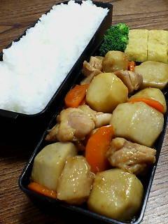 鶏肉と里芋のオイスターチリソース炒め