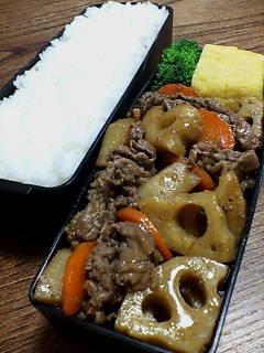 牛肉とレンコンの山椒炒め