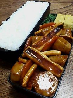 イカと里芋の甜麺醤炒め